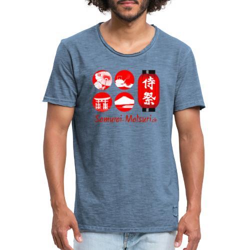 Samurai Matsuri Festival - Männer Vintage T-Shirt