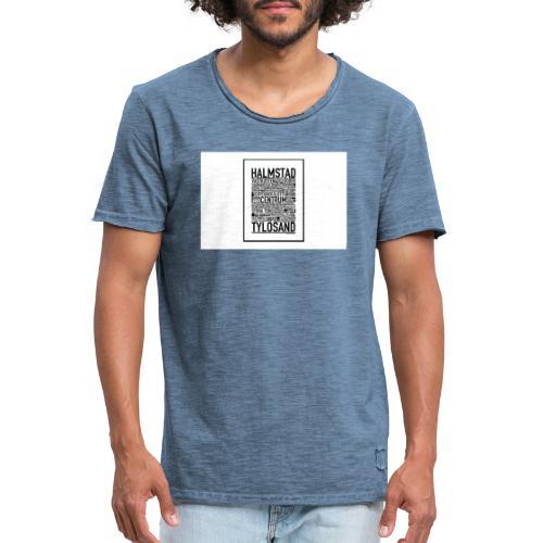 Only Halmstad - Vintage-T-shirt herr
