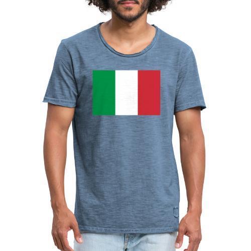 2000px Flag of Italy svg - Maglietta vintage da uomo