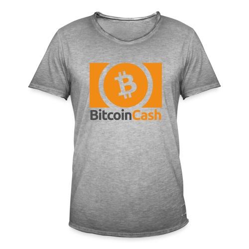 Bitcoin Cash - Miesten vintage t-paita
