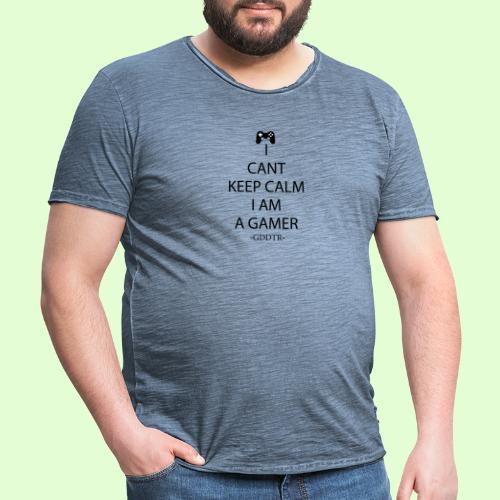 Keep Calm - Männer Vintage T-Shirt