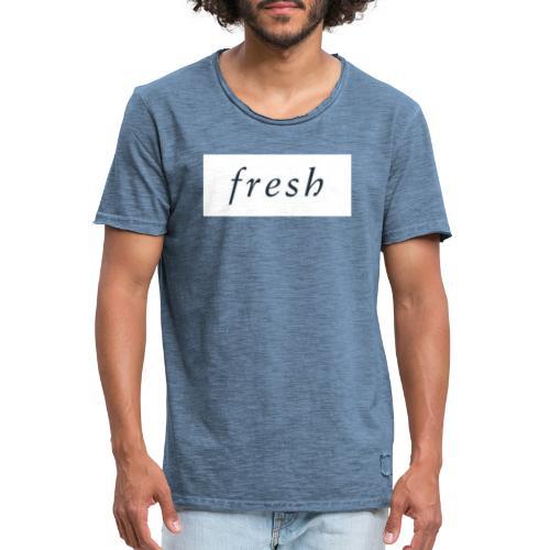 4CCF3943 A1EB 4550 9C71 7C139FBFE54A - Männer Vintage T-Shirt