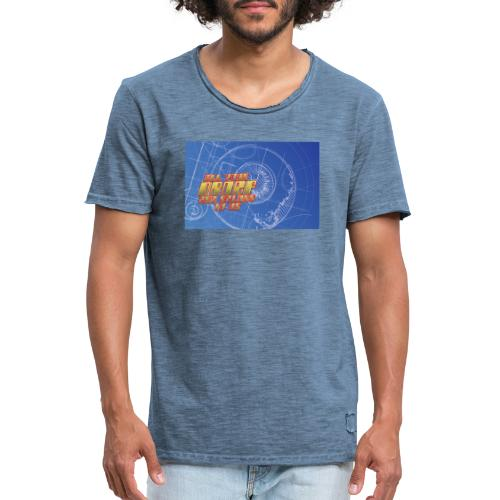All Your Droef Are Belong To Us met tekst - Mannen Vintage T-shirt