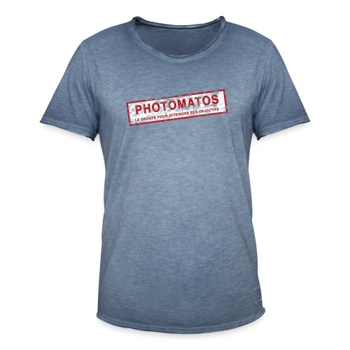 PhotoMatos - T-shirt vintage Homme
