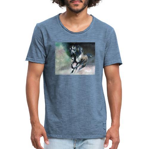 Destriero - Maglietta vintage da uomo