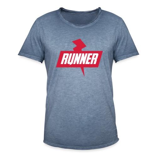 RUNNER 1 - Maglietta vintage da uomo