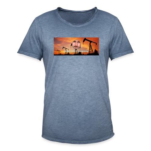 Allan Oil - Allan Oil Company Merch - Vintage-T-skjorte for menn