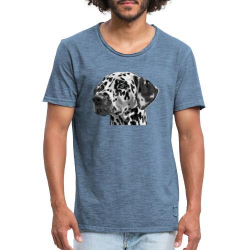 dog - Camiseta vintage hombre
