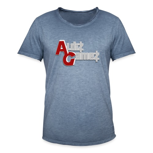 AldizGamez - Mannen Vintage T-shirt
