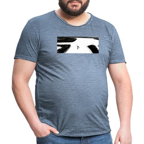 Lagune bei Venedig - Männer Vintage T-Shirt