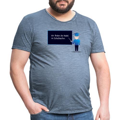 Slogan Collection - Männer Vintage T-Shirt