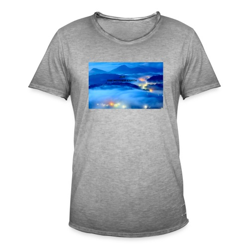 the mother earth collection 2017 - T-shirt vintage Homme