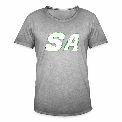 Vit SA Logo - Vintage-T-shirt herr