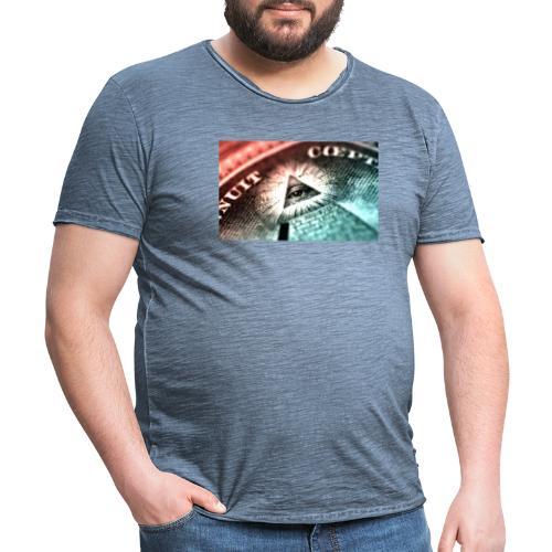 nwo - Camiseta vintage hombre