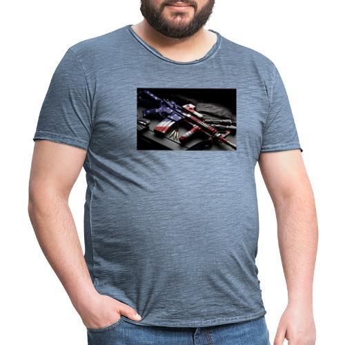 American Gangster - Männer Vintage T-Shirt