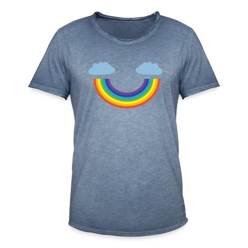 Regenbogen - Männer Vintage T-Shirt
