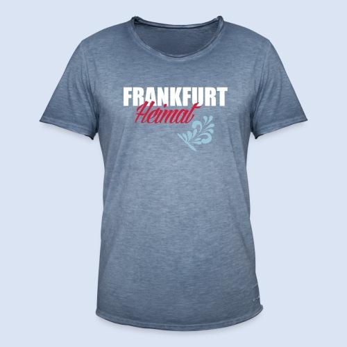 Frankfurt Meine Heimat #Frankfurt #Heimat - Männer Vintage T-Shirt