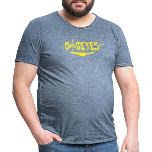 Dogeyes Logo - Men's Vintage T-Shirt