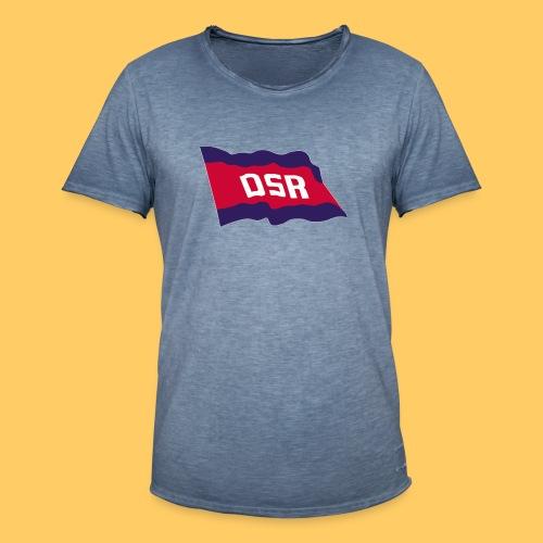 DSR Flagge - Männer Vintage T-Shirt