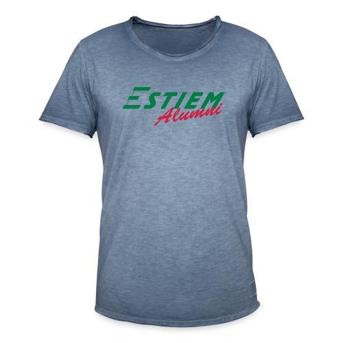ESTIEM Alumni - Mannen Vintage T-shirt
