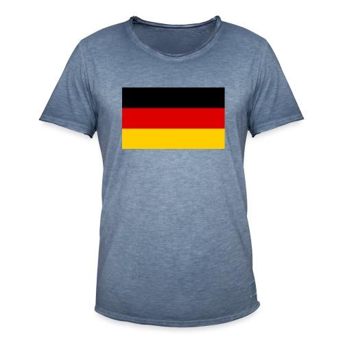 2000px Flag of Germany svg - Männer Vintage T-Shirt