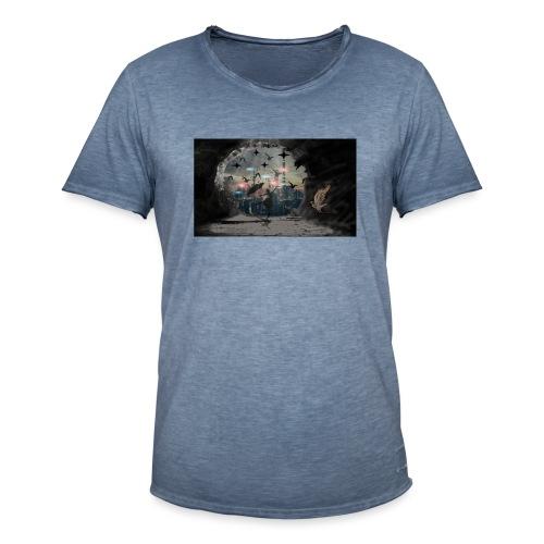 Schatten - Männer Vintage T-Shirt