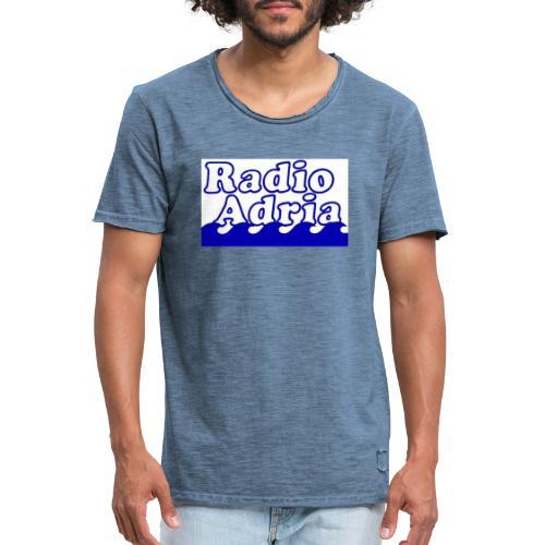 RadioAdria Logo - Männer Vintage T-Shirt