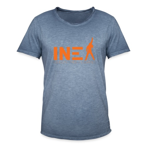 New Logo INEX sans fond orange QUEEN TRIBUTE BAND - T-shirt vintage Homme
