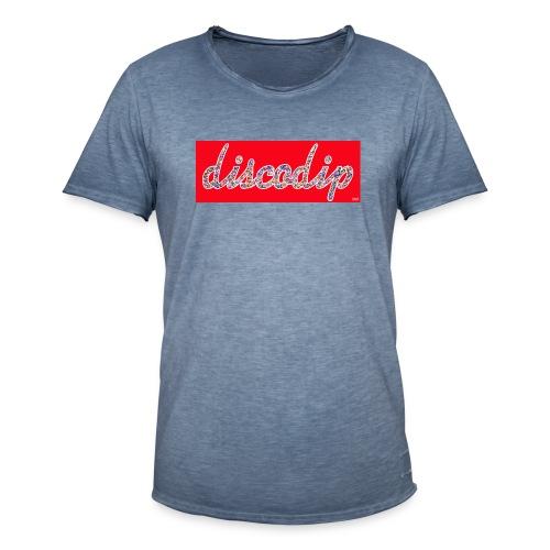 DISCODIP - Mannen Vintage T-shirt