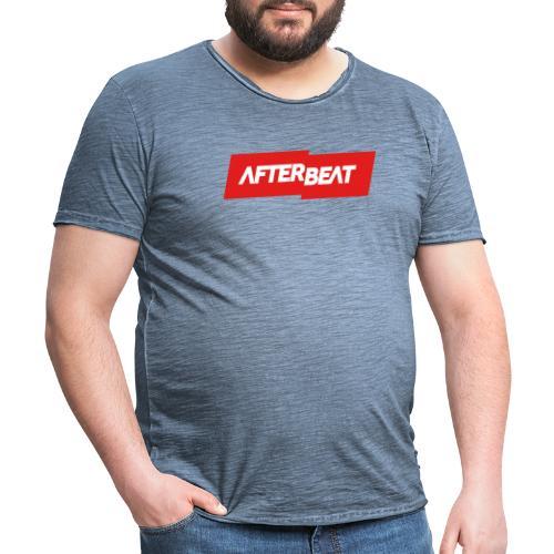 Afterbeat LOGO Merchandise - Men's Vintage T-Shirt