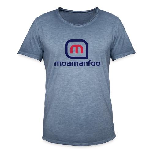 Moamanfoo - T-shirt vintage Homme