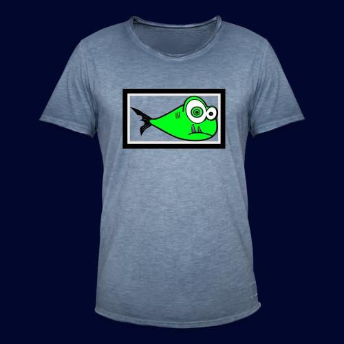 fish - Männer Vintage T-Shirt