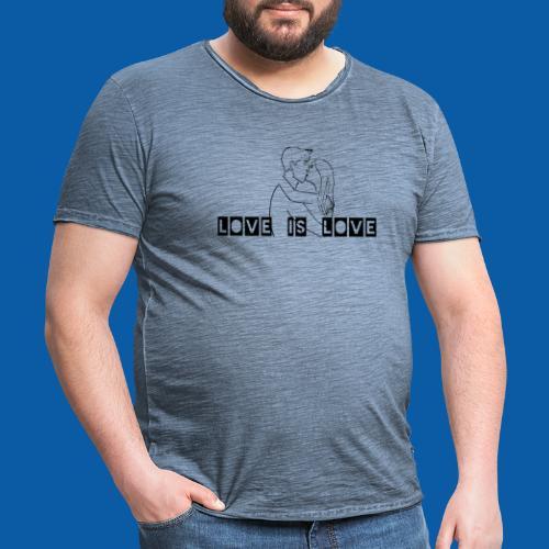 Hetreo Edition - Männer Vintage T-Shirt