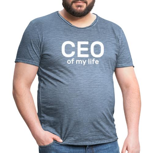 CEO of my life - T-shirt vintage Homme