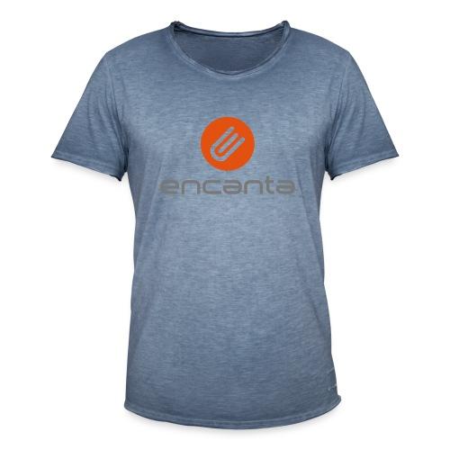 Encanta_Logo_Vector - Camiseta vintage hombre