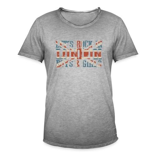 LET'S ROCK IN LONDON - Maglietta vintage da uomo