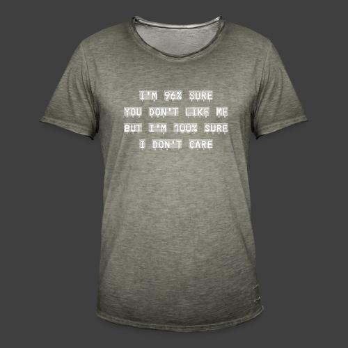 96% - Men's Vintage T-Shirt