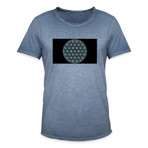 flower of life - Mannen Vintage T-shirt