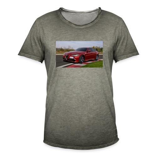 alfa-romeo-giulia - Maglietta vintage da uomo