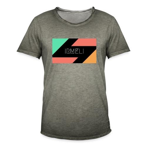 Irmelis Logo glothes - Miesten vintage t-paita