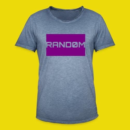 Random Logo - Men's Vintage T-Shirt