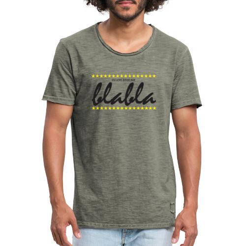 Blabla - Männer Vintage T-Shirt