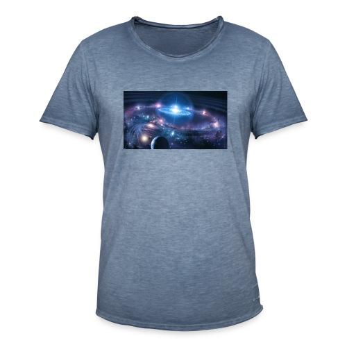 Die Tiefen des Weltalls - Männer Vintage T-Shirt