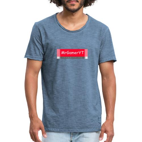 mrgameryt team - Männer Vintage T-Shirt