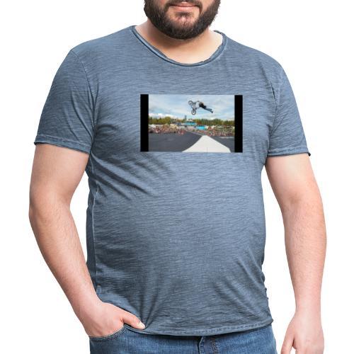 Karlis Sprung - Männer Vintage T-Shirt
