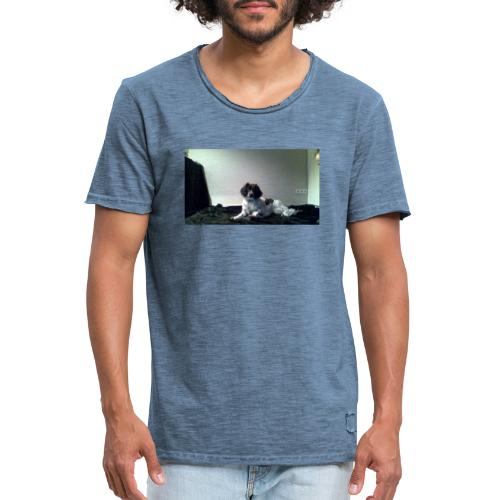 DOG - Mannen Vintage T-shirt