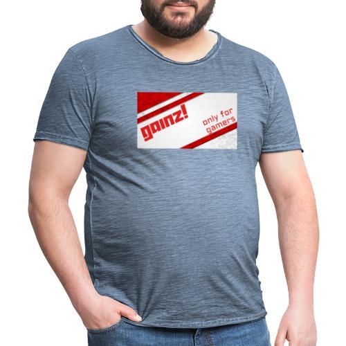 Gainz - Herre vintage T-shirt