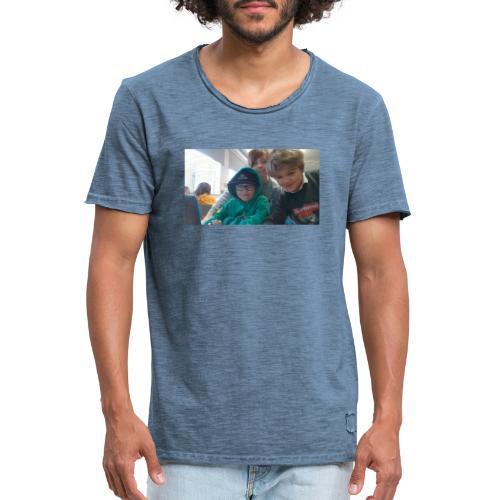 hihi - Vintage-T-shirt herr