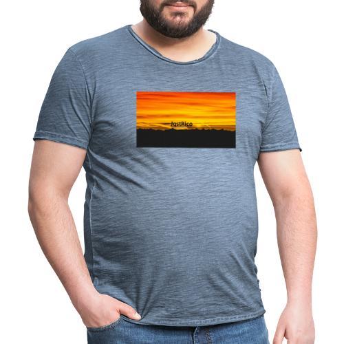 SunSet - Herre vintage T-shirt