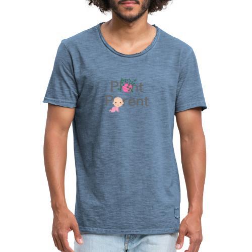 Plant Parent - Men's Vintage T-Shirt